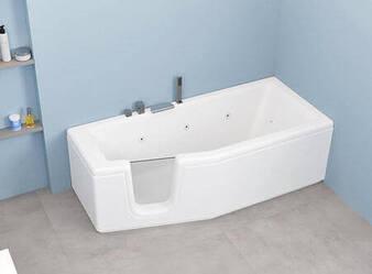 Vasca da bagno Compact con Porta