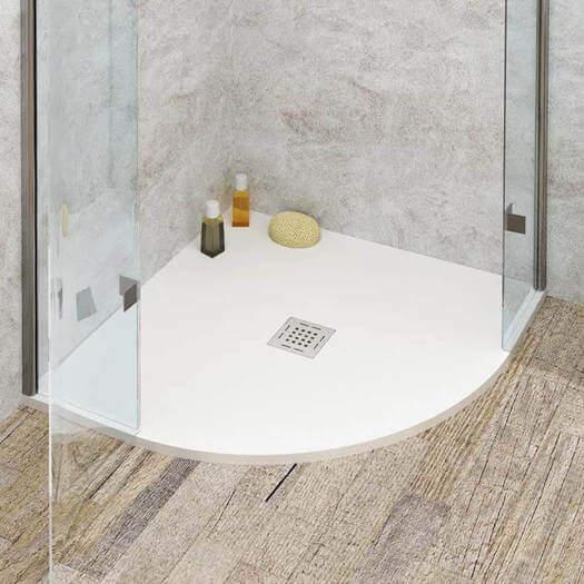 Piatto doccia Solid Surface Semicircolare