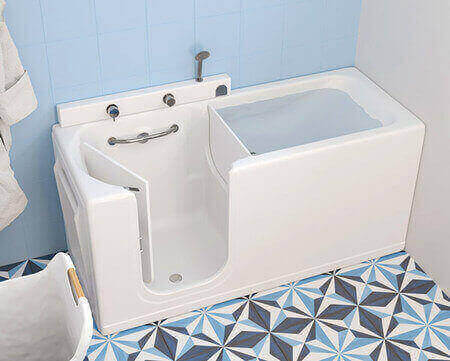 Vasca con Sportello 150×70 170×70 – Comfort