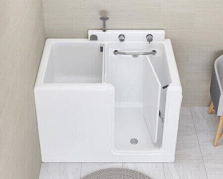 Vasca con sportello 100×70 – Small