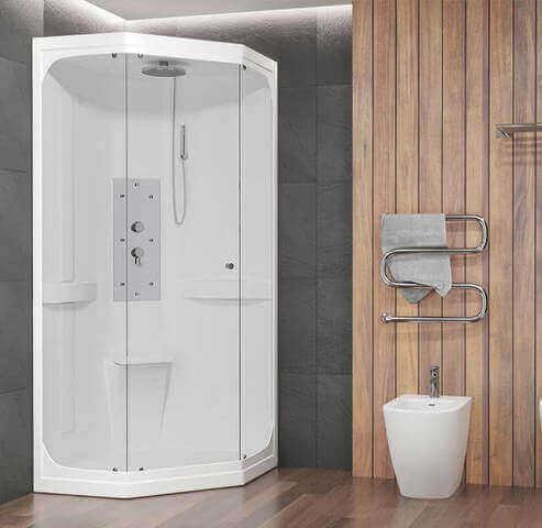 Cabina doccia 90×90 Marley