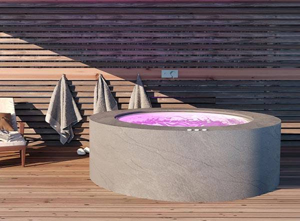 Vasca idromassaggio da esterno 2 posti
